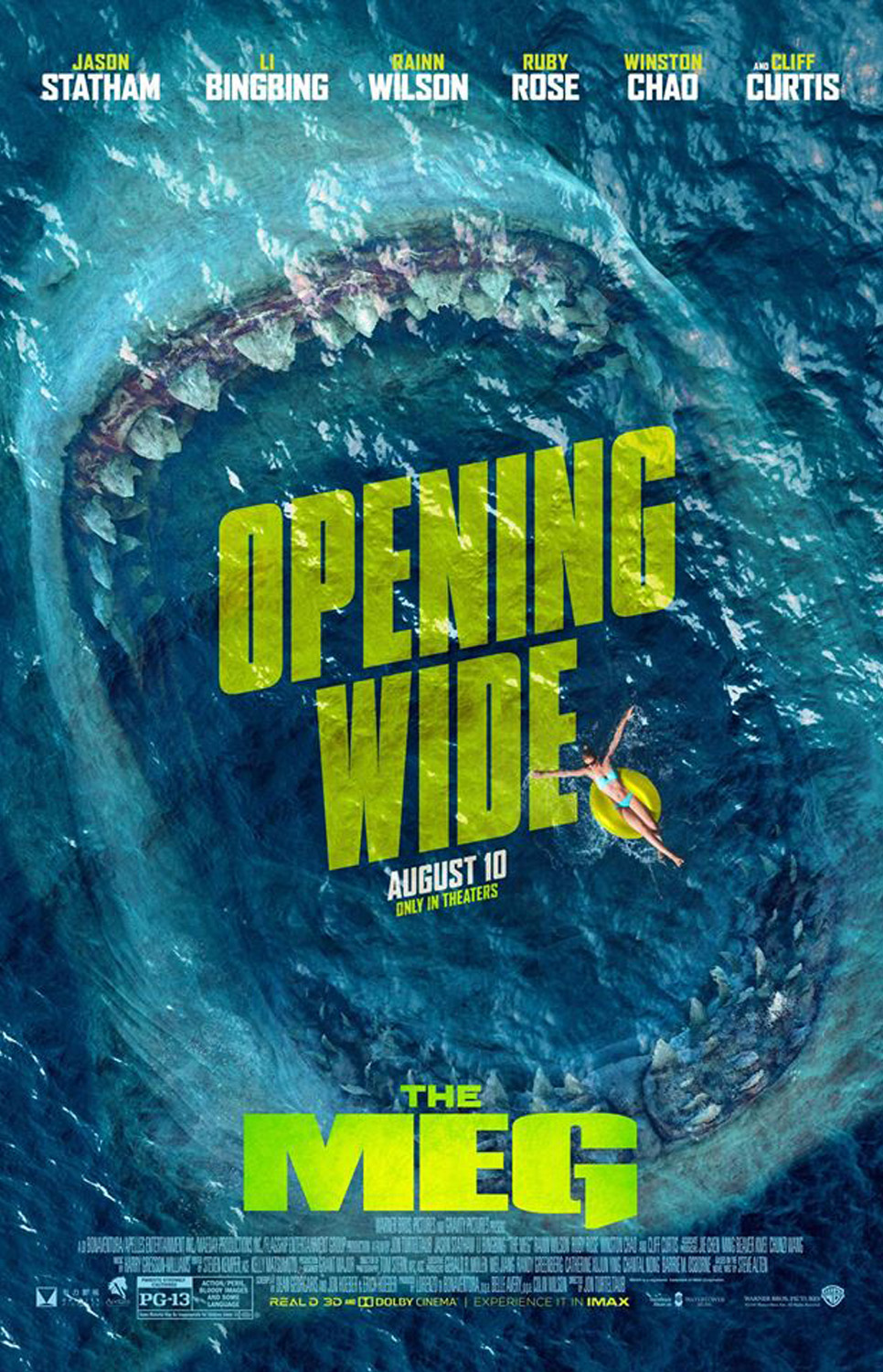 MEG Movie Poster | Opening Wide