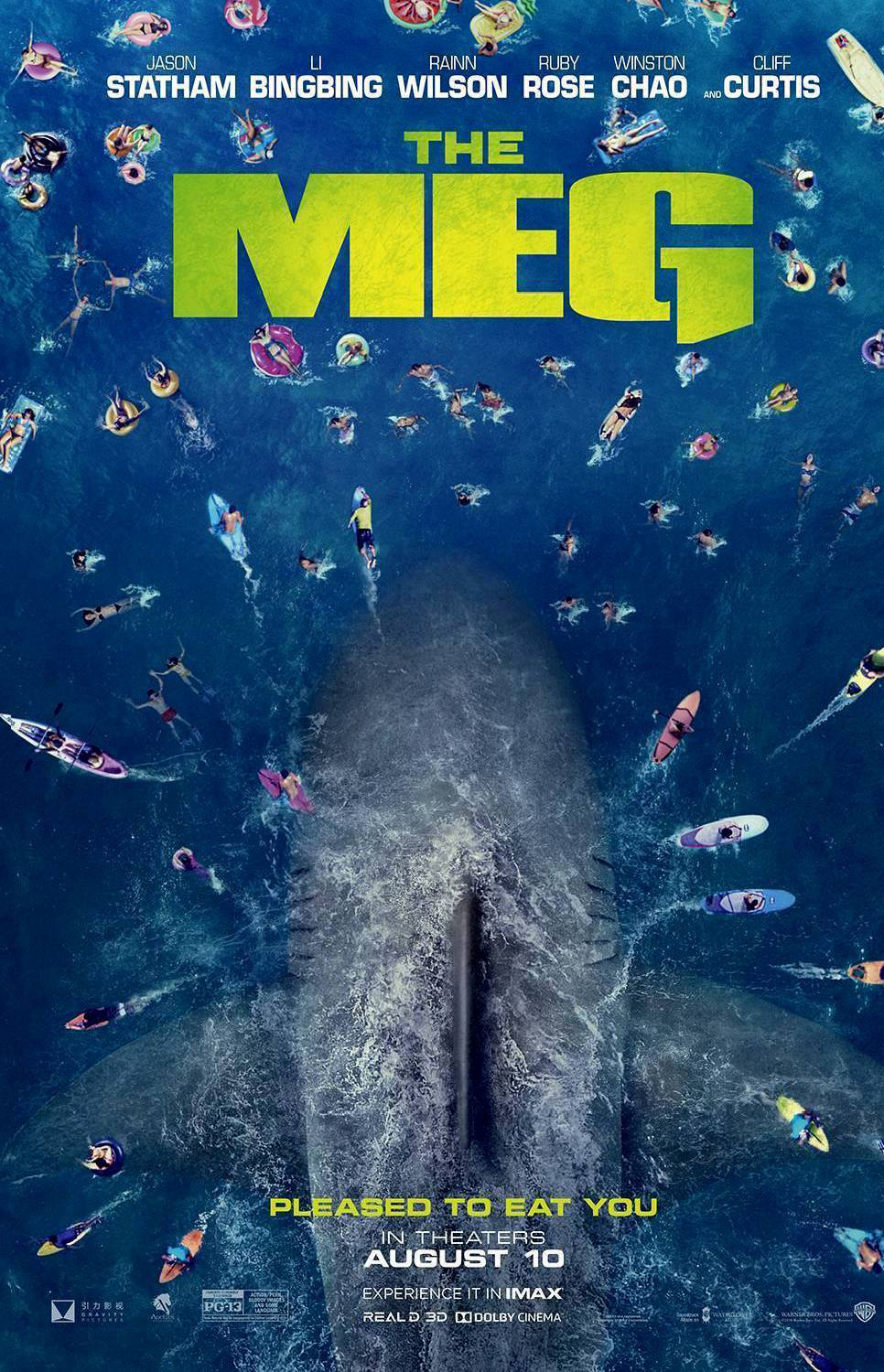 MEG Movie Poster | Pleased To Eat You