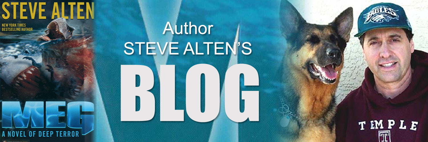 Steve Alten Blog | News and Events from Bestselling Author Steve Alten