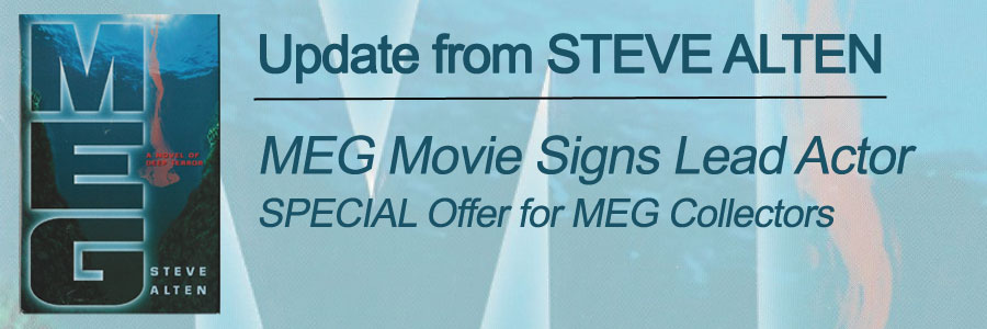 Steve Alten Update