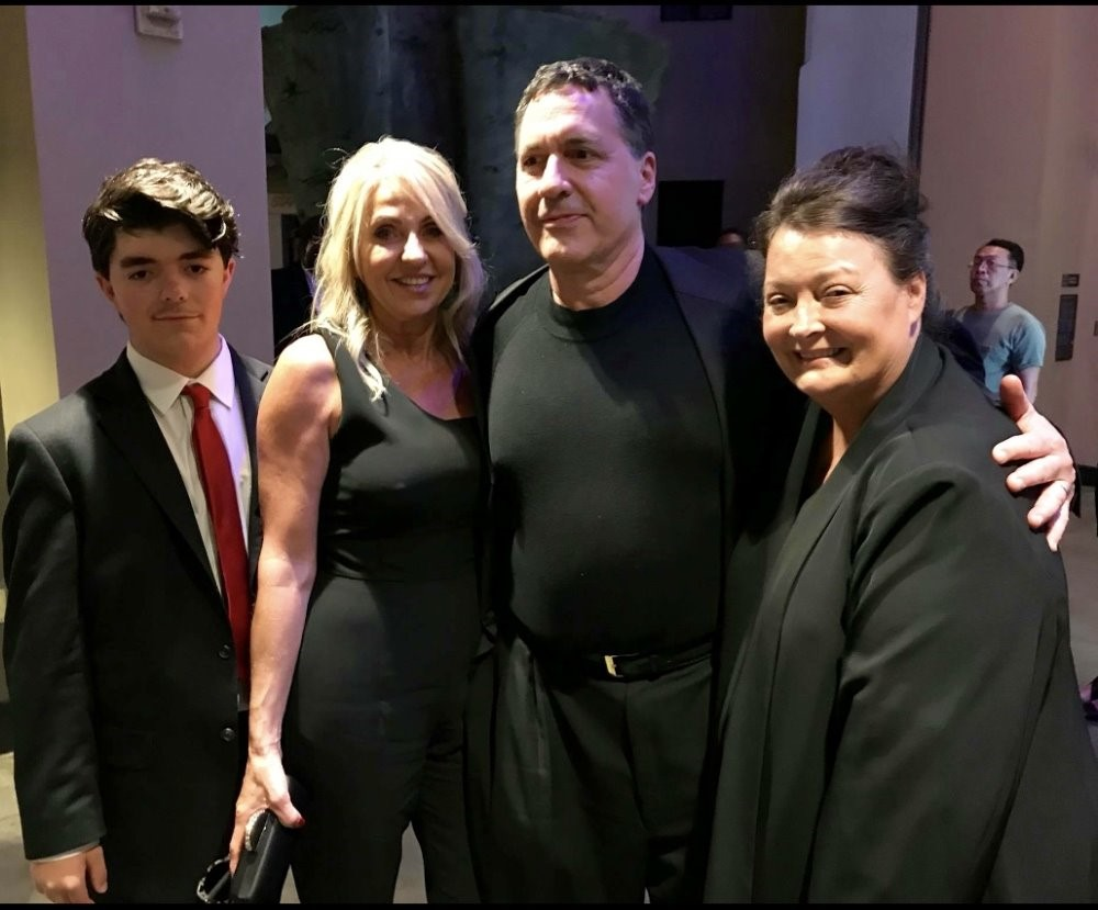 Steve Alten, wife Kim, son Branden & producer Belle Avery