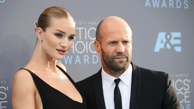JasonStatham Rosie Huntington Whiteley